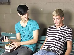 What can they possibly do to pass the time male deep throat fuck twink at Teach Twinks