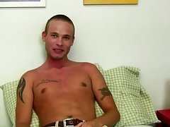 Mr. Hand begins out slow, but as Cory receives greater amount and greater amount horny Mr. Hand breaks out the lube and toys to drive Cory insane