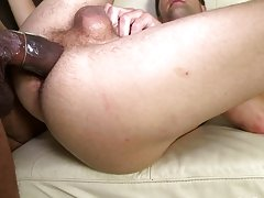 Cute hard young gay cock cumshot