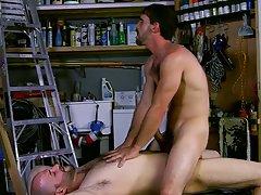 Hot gay hunks having sex and sexy hunky gay studs at My Gay Boss