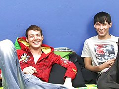 Chase shows Christopher a fine time in his 1st hardcore video first gay sex info at Boy Crush!