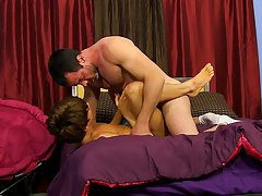 Men cumming from anal penetration and sex gay emo guys kissing at I'm Your Boy Toy