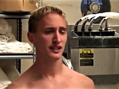 It's a day like any other at the Blue Moon Place to turn...that is, until the guys discern loose that theres a new employee gay twink sucking