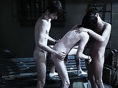 Nude gay male groups and group of guys having sex - Gay Twinks Vampires Saga!