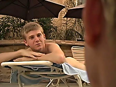 Jerrick Dalton and Wes Dynasty are having a day by the pool, complete with rimjobs ,and mindless fucking