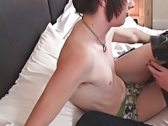 This week we dig the return of the on any occasion so sexy Andrew Dexter being stretched with a dildo then fucked nearby our brand young model Josh Os