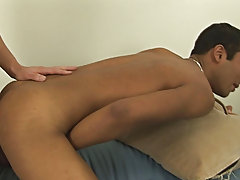 As soon as he was in, Zakk was able to pick up a steady pace, both boys being very vocal as they fucked, Zakk demanding Ryan tell him if he liked that