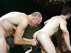 Sure it's crude and foul sounding � but its such a grubby and descriptive token of slang and it surmises this filthy gang bang part with Ashley R