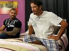 Married studs Alexsander Freitas and Danny Brooks are surprised when Wade Westin turns up to replace the stripper gal who at no time showed, but they