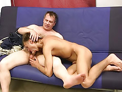 As soon as there was a break in the action, Charles made his move twink gay blowjob