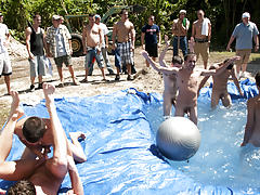 I mean its not embarrassing enough playing naked in a nasty fake pool gay teen groups