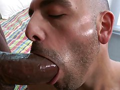 His name is Adam and it's gonna hurt latino black interracial ga