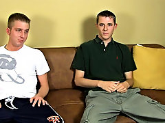 Brian and David, who are 20 and 23, tease to do some harshly jerking owing you, however, David is 'Rehabilitate' so jerking remote with anot