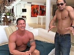 This week on itsgonnahurt we brought in The Rock who is this big jacked gay dude that always fantasized about taking a big black dick in the ass inter