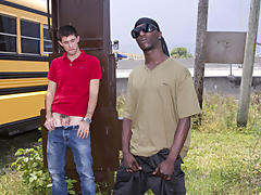He seemed hesitant at first, but the dream of getting off the streets and into the Cash money Mansion were with-in reach interracial gay men sex