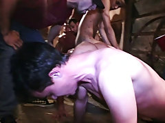 You won't want to miss this one gay oral group sex pics