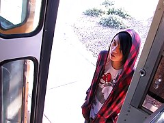 Roxy Red is the last one to ride the Boycrush Bus which means Andy Kay, the busdriver, gets a turn gay diapered twinks