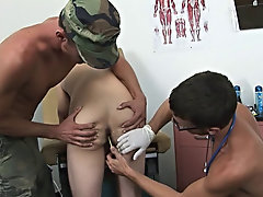 I just completed the oral part of the exam with some cure from his ROTC recruiter gendarme corporal Bobby anal group orgy gay