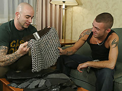 Sam lured in Jesse by advertising his leather gear in the assignment gay hunk video galleries
