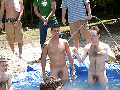 I mean its not embarrassing enough playing naked in a nasty fake pool gay newsgroups for escort
