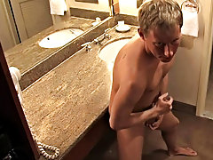 Mason with his toned body and perfectly formed 8incher jerks off in his hotel allowance twink boy sex pics