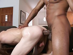 Today's victims name is Val and Castro literally nails his tight little asshole to the wall interracial gay hunks video