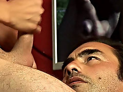 Watch the meaty stab give the older lover's ass some good old rubbing twinks thumbs gay