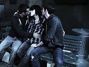 Group gay blowjob and gay group sex men - Gay Twinks Vampires Saga!
