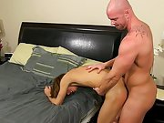 Hot sportsmen with their cocks and guy licking other guys butt at Bang Me Sugar Daddy