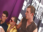 Group gay and lesbians fuck and male group masterbation at Crazy Party Boys