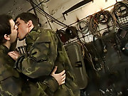 Gay military nude pictures and gay military trailer