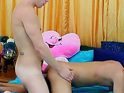 Gay twinks cum and gay teens first time - at Real Gay Couples!