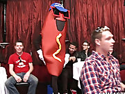 Straight guy swallows come and teacher boy hardcore photo at Sausage Party