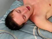Male orgasm through anal and cute boy gay legs - Jizz Addiction!