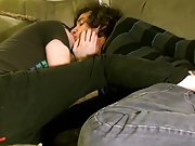 Gay emo twinks in jeans tube and is teen boy armpit hair on arm - at Tasty Twink!