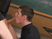 Gay twink shitting on penis and twink pissing outside pic at Teach Twinks