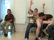 Teen jerking gay men group and group gay cocks at Sausage Party