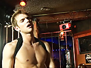With a bet round the 'ramrod' pool table won, the studly gay muscle god with the hot bod has his firm protruding chest of muscle licked over