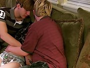 Guys with blond pits and pubes and ass big holes fucked dual boys - at Boy Feast!