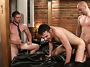 Gay group cock sucking and male tickling groups