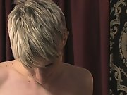 Dustin Revees and Preston Andrews are both marvelous twinks first gay blowjob