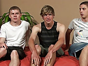 Sam was next, cum dribbling down into Kevin's pubes while Reed was only a minute behind him, spilling over onto Kevin's chest support groups