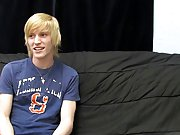 This recent blonde guy gives a super sensual interview for his first BC vid first male mastubation at Boy Crush!