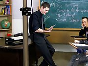 The classroom set indeed helps the chaps receive into the spirit of things, Nate Kennedy roleplays perfectly as one very made water off and horny teac
