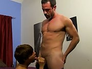 The two fuck hard all over the bed, Kyler takes it doggy and missionary in advance of this chab can not hold back anymore, spraying cum all over himse