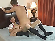 The two chaps engulf each other's dicks in advance of Tyler Bradley climbs on board to ride his friend gay virgin twinks at Teach Twinks