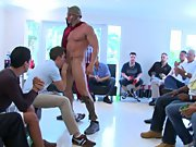 Free movies of hot gay groups having sex and male breasts groups at Sausage Party