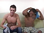 He seemed to be pretty legitimate at it, and kept the cock flinty interracial gay blowjob