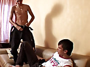 Christof and Sergio first time fucked on video gay twink ass at Boys Fox