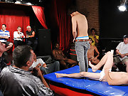 Cocks come gone and the judging begins by means of sticking the horny comestibles down their throats and asses until the winner is crowned with pearl